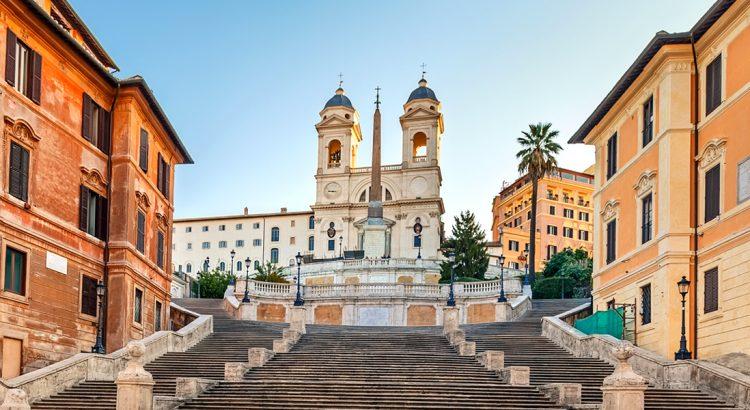 Испанското стълбище – една неотмираща романтика
