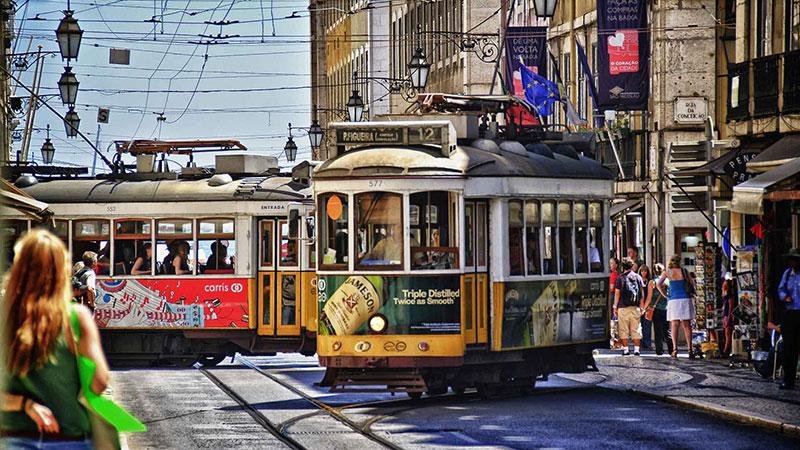 Трамваите - символ на Лисабон 1