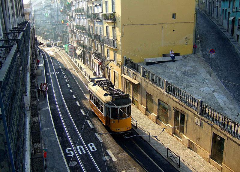 Трамваите - символ на Лисабон 2