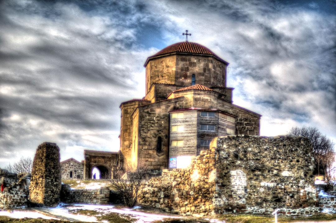 against_the_storm-_jvari_monastery_in_winter-_georgia