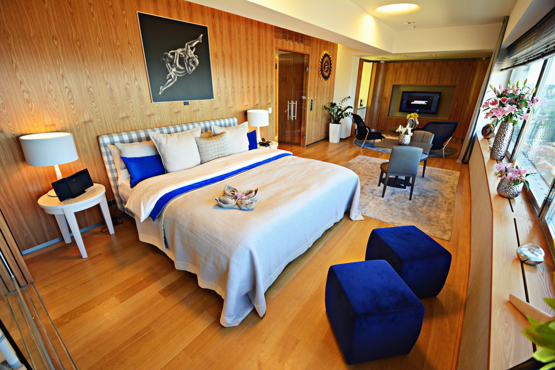 Апартаментът в хотела
