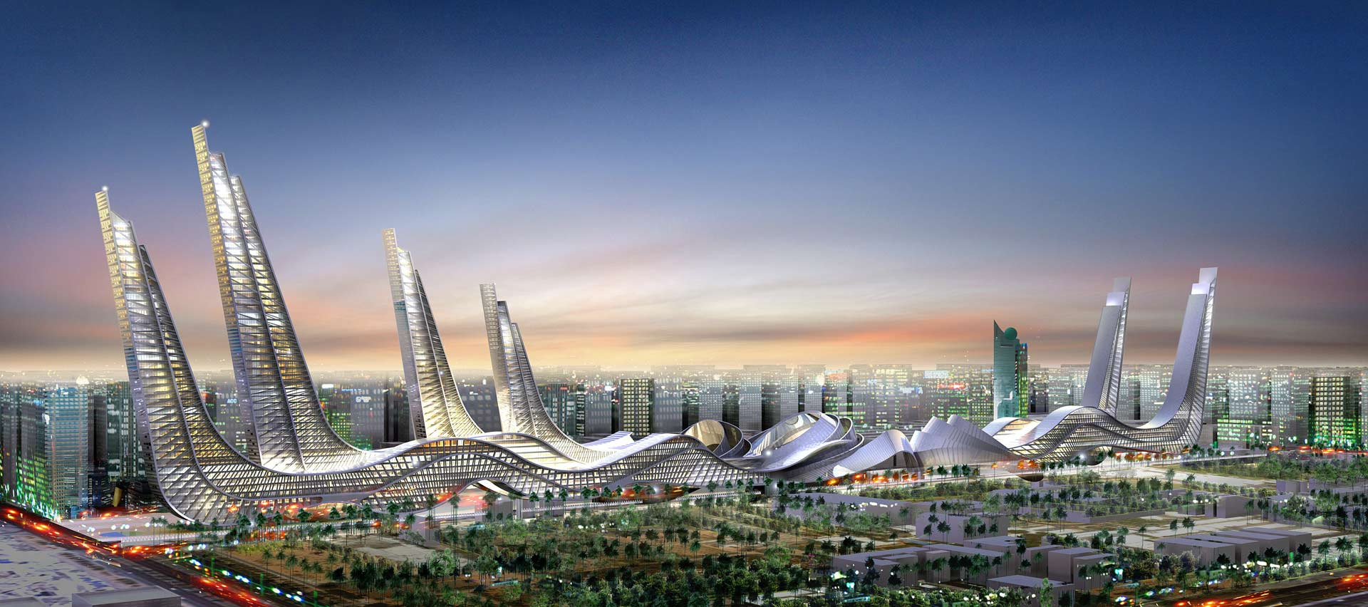 Абу Даби - Бащата на газелата - 1