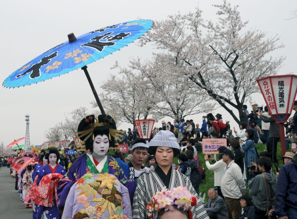 Сакура - вълшебният природен феномен в Япония 9