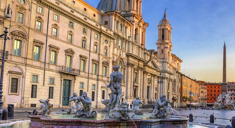 """Площад """"Навона"""" в Рим"""
