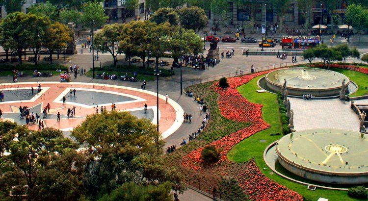 """Площад """"Каталуня"""" и улица """"Рамбла"""" – истинското сърце на Барселона"""