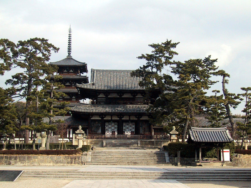 Храм Хориуджи
