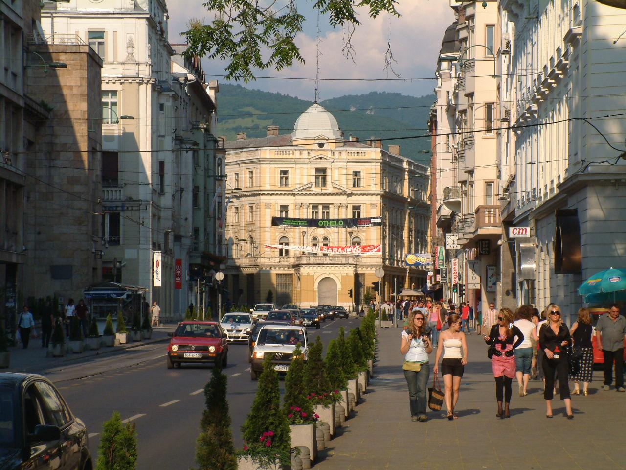 Saraevo streets