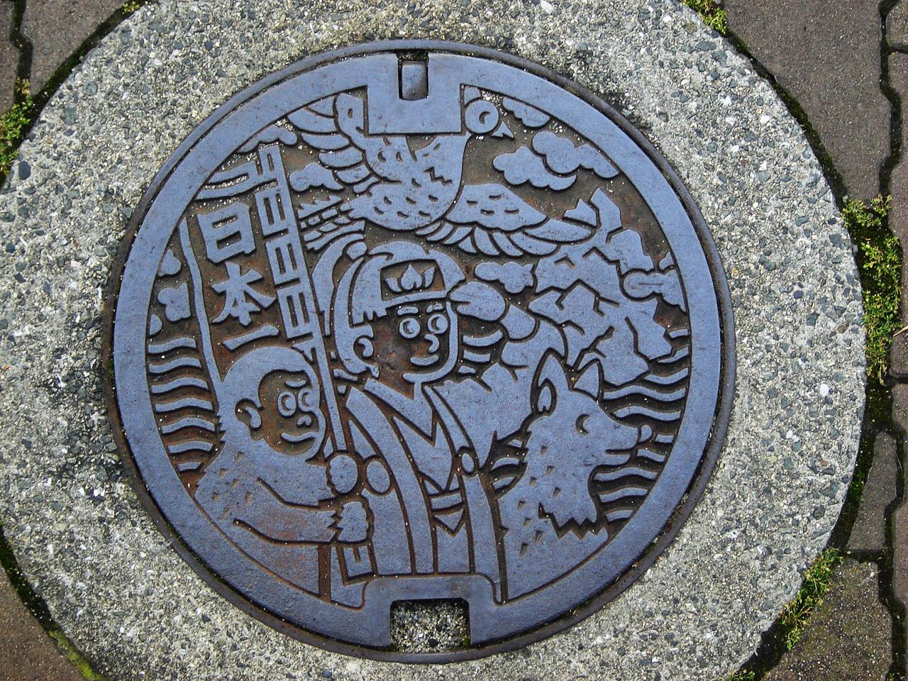 Тези щури капаци на шахти в Япония 1