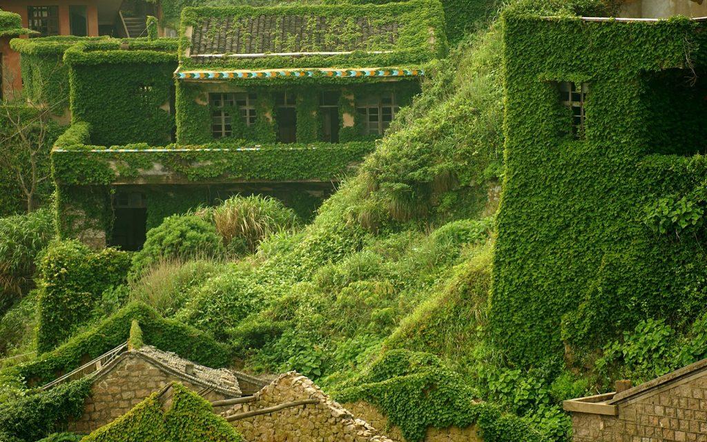 Изоставено рибарско село – зелена приказка, сътворена от природата 5