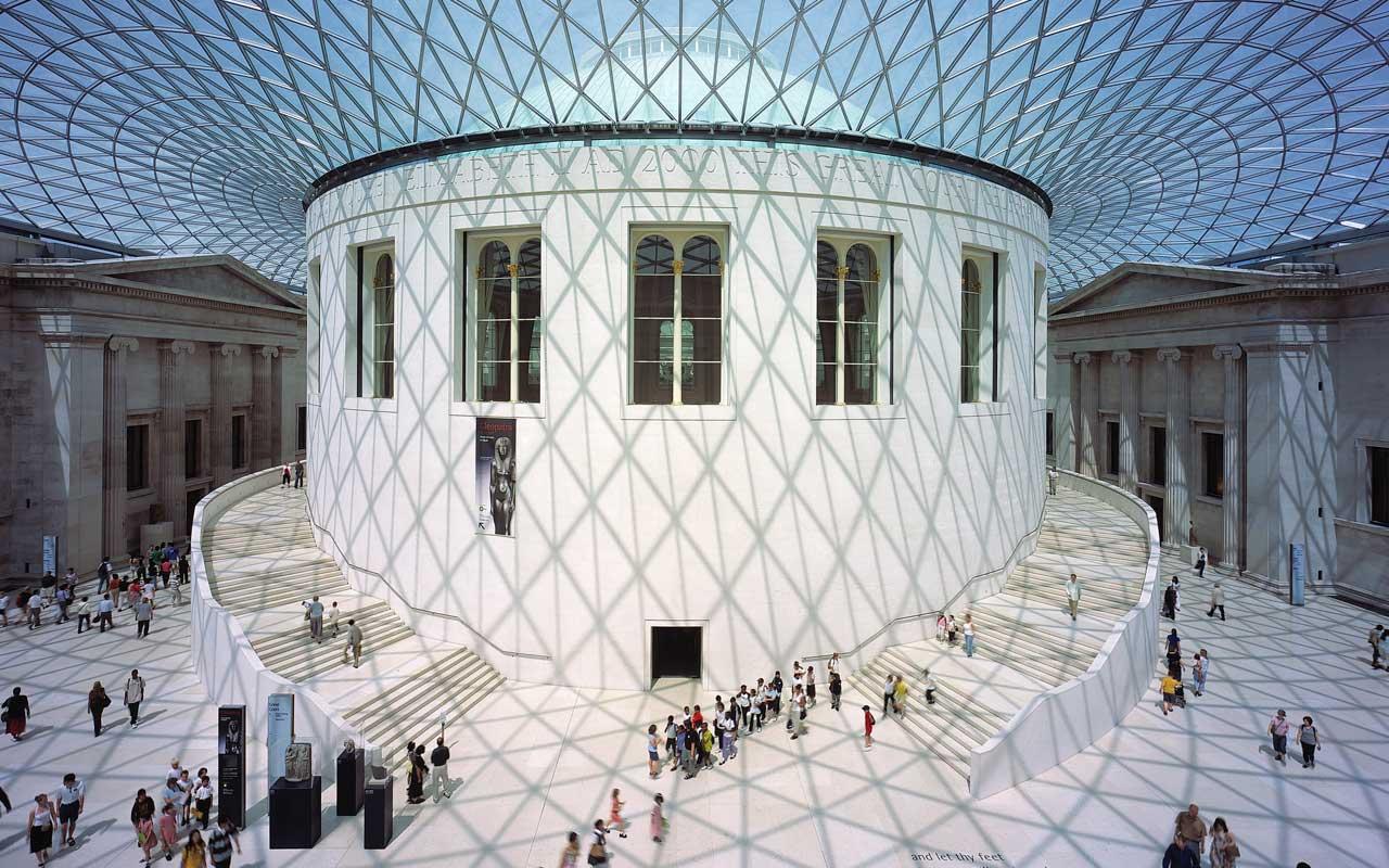 Британският музей отвътре