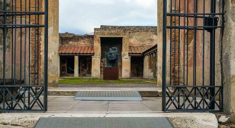 Домът на целомъдрените любовници в Помпей