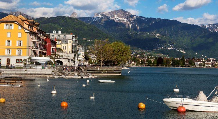 Веве – една от перлите на Женевското езеро