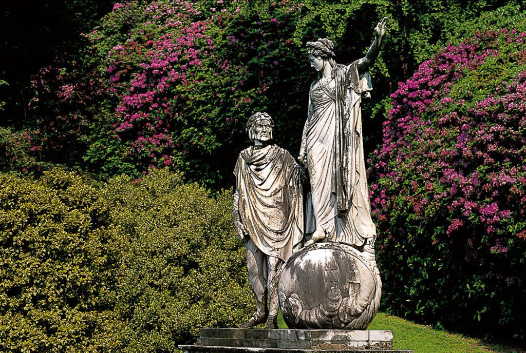Статуя на Данте и Беатриче