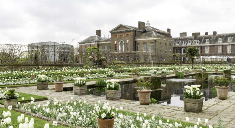"""Бялата градина"" на принцеса Даяна – бленуван рай"