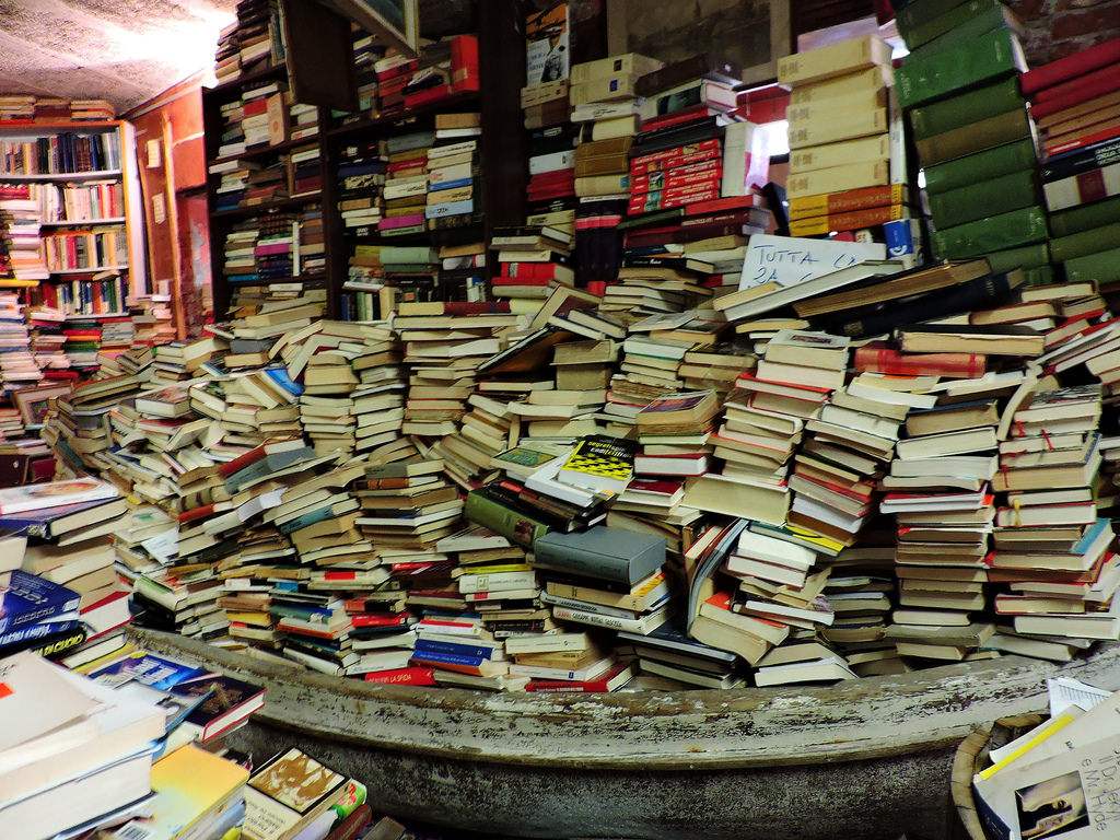 Плаващата книжарница на Венеция 5