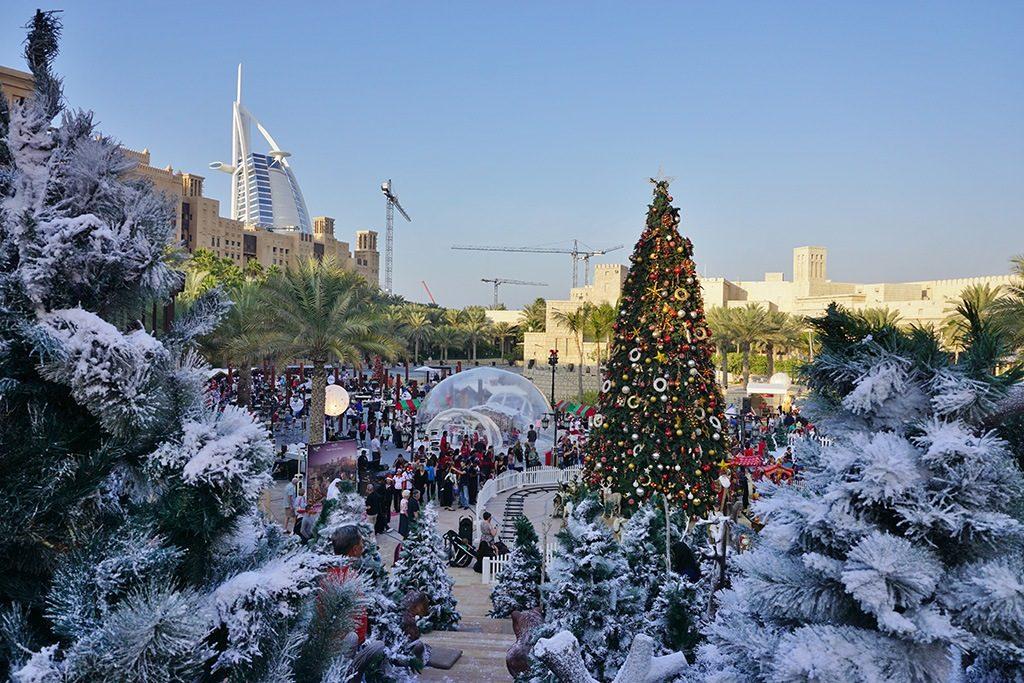 Коледа в Дубай – истинско чудо - 1