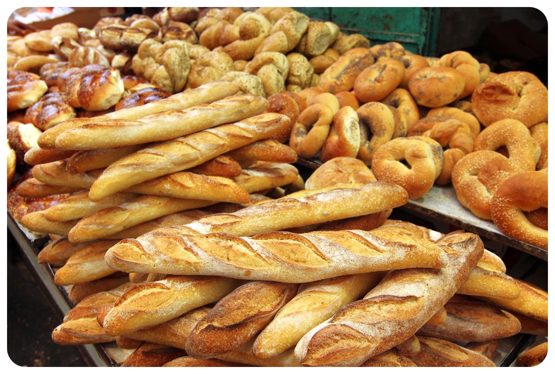 Топли, вкусни хлебчета