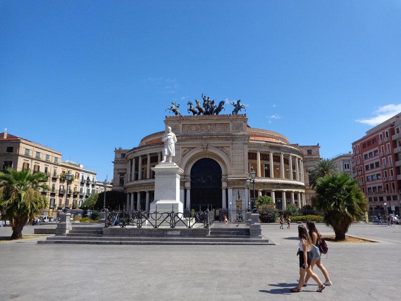 Палермо, Театро Политеама-Гарибалди