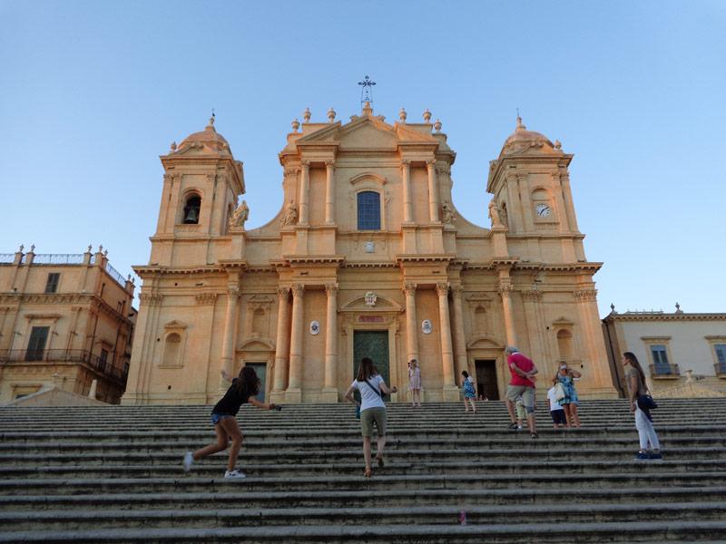 """Катедралата """"Сан Николо"""" в град Ното"""