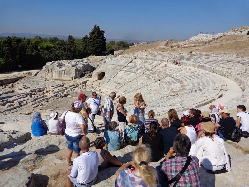 Археологическият комплекс в град Сиракуза