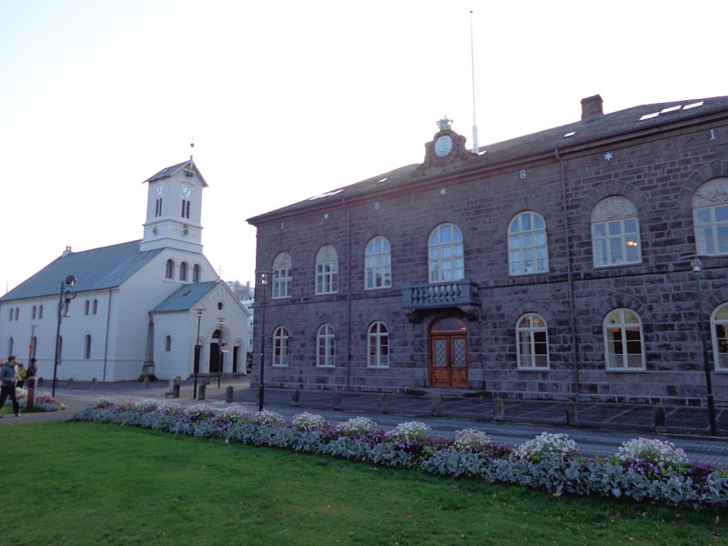 Парламентът на Р.Исландия и градската катедрала