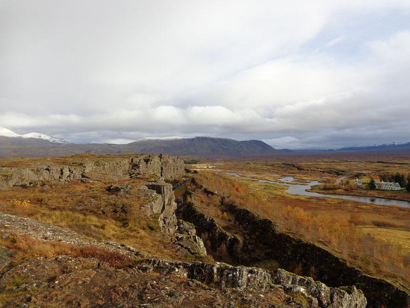 Национален парк Тингветлир и разломът между северноамериканската и евроазийската земна плоча