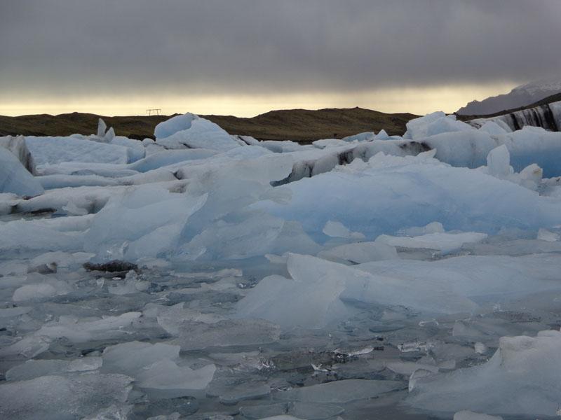 Ледникът Ватнайокутл и ледниковото езеро Йокулсарлон