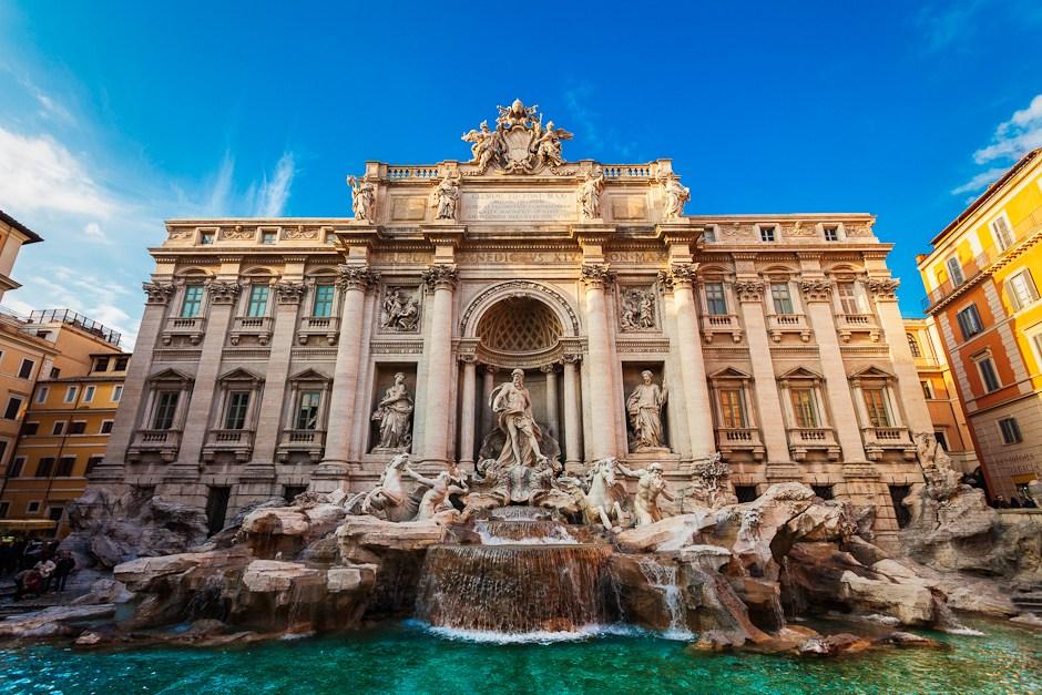 Fontana di Trevi (Trevi Fountain)
