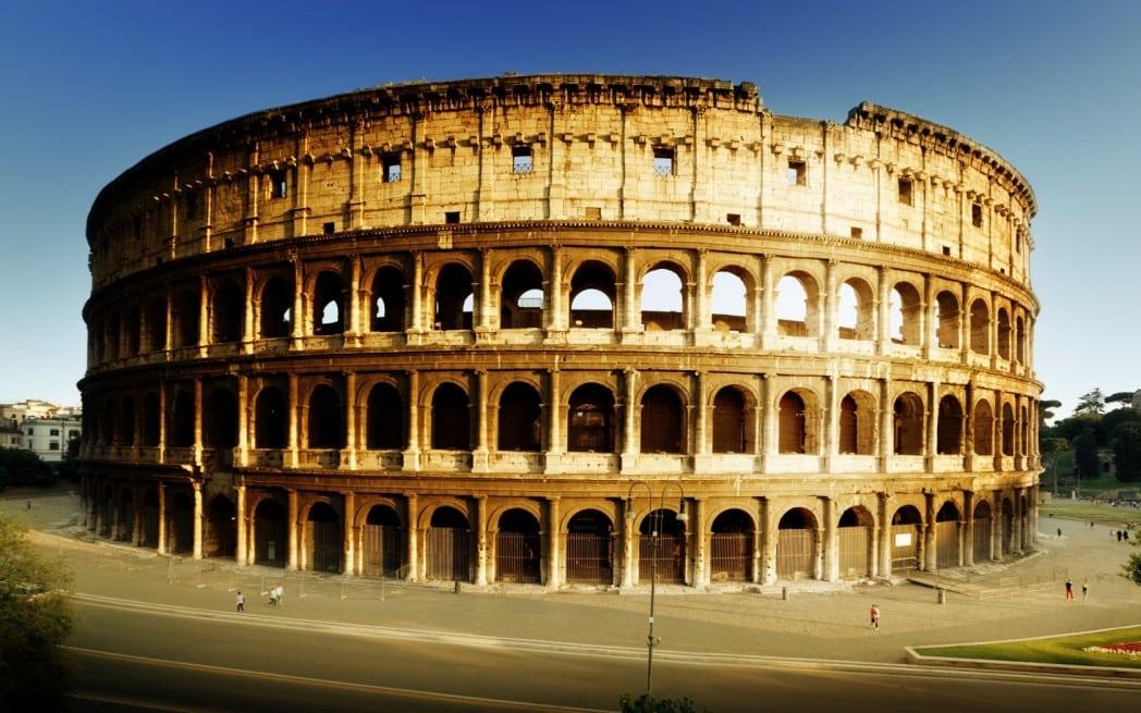 Качете се на покрива на Колизеума - 2