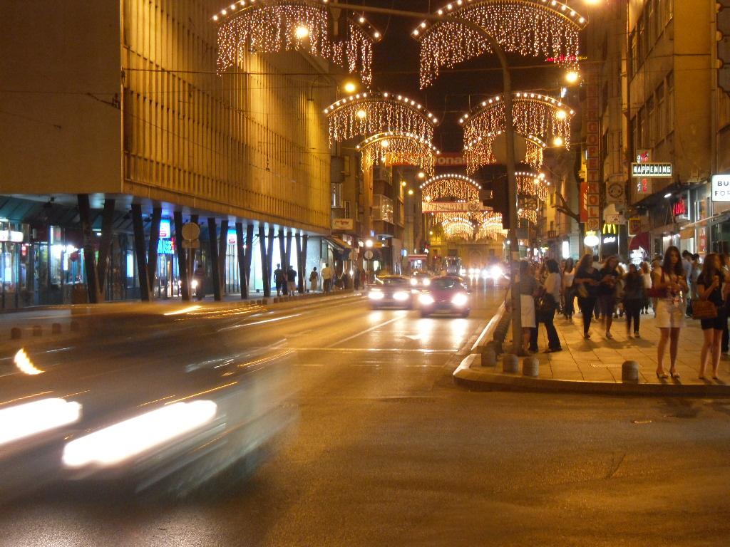 Нощният живот в Сараево – сбъдната мечта 1