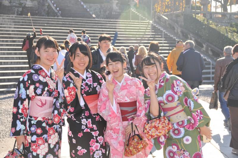 """Киото, храм """"Киумизудера"""" - Храмът на чистата вода"""
