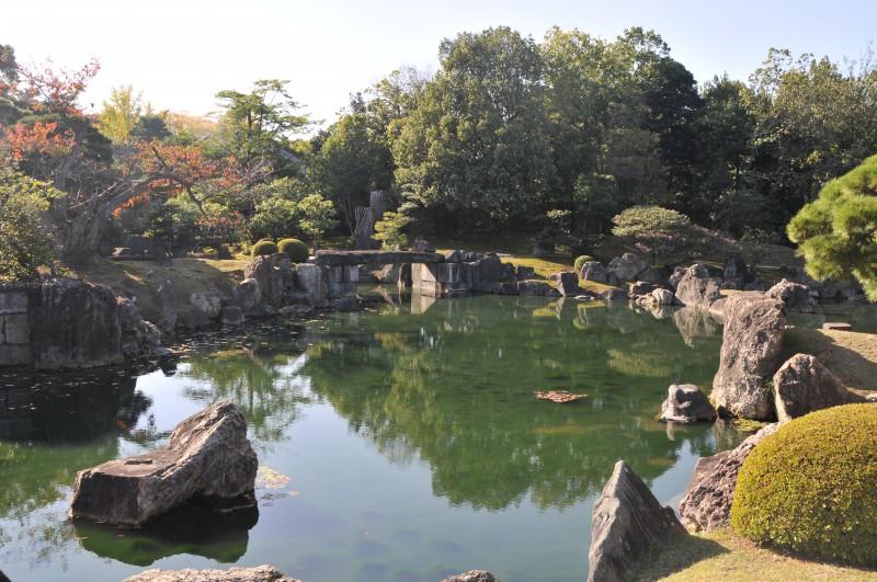 """Киото, в градините на замъка """"Ниджо"""""""