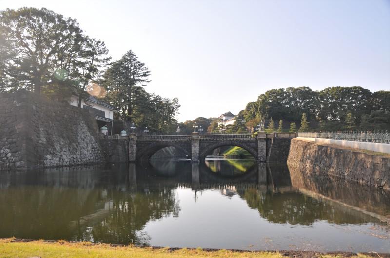 Токио, Източните градини на Императорския дворец