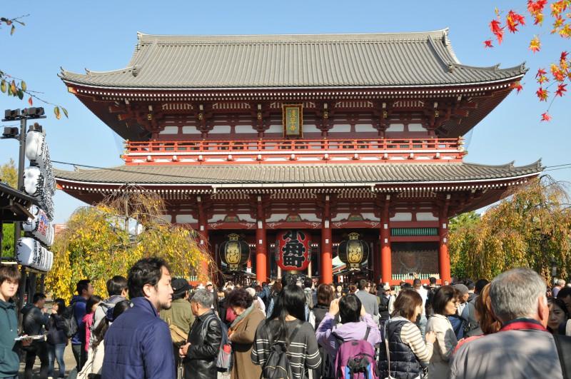 """Токио, шинтоисткият храм """"Сенсоджи"""" в кв. """"Асакуса"""""""