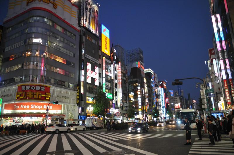 """В най-натоварените часове няколко хиляди човека пресичат кръстовището в кв. """"Шибуя"""" наведнъж"""