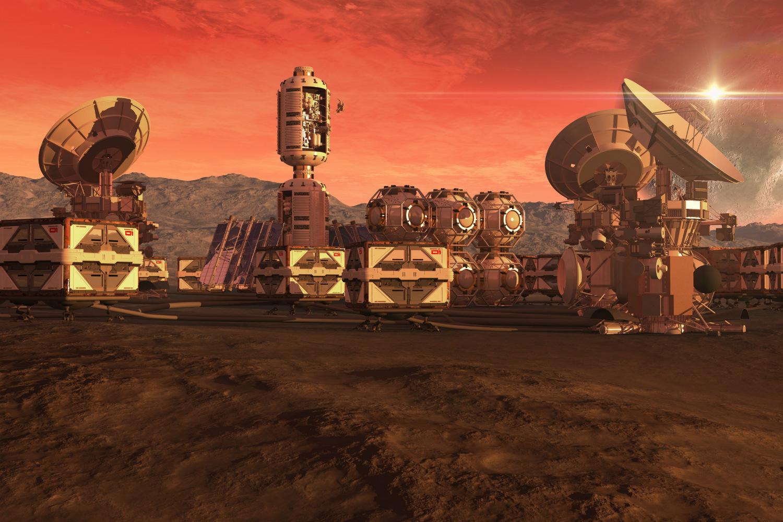 mars-colony