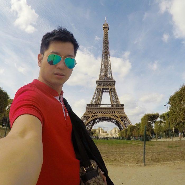 Най-добрите места за селфи в Париж 1