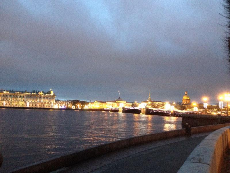 Фотопътепис – Москва и Санкт Петербург Нова година 11