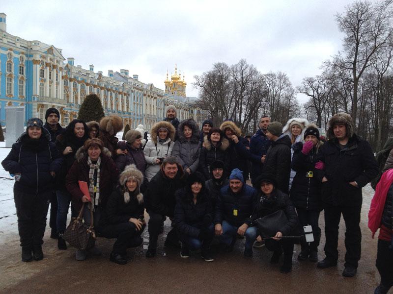 Фотопътепис – Москва и Санкт Петербург Нова година 12
