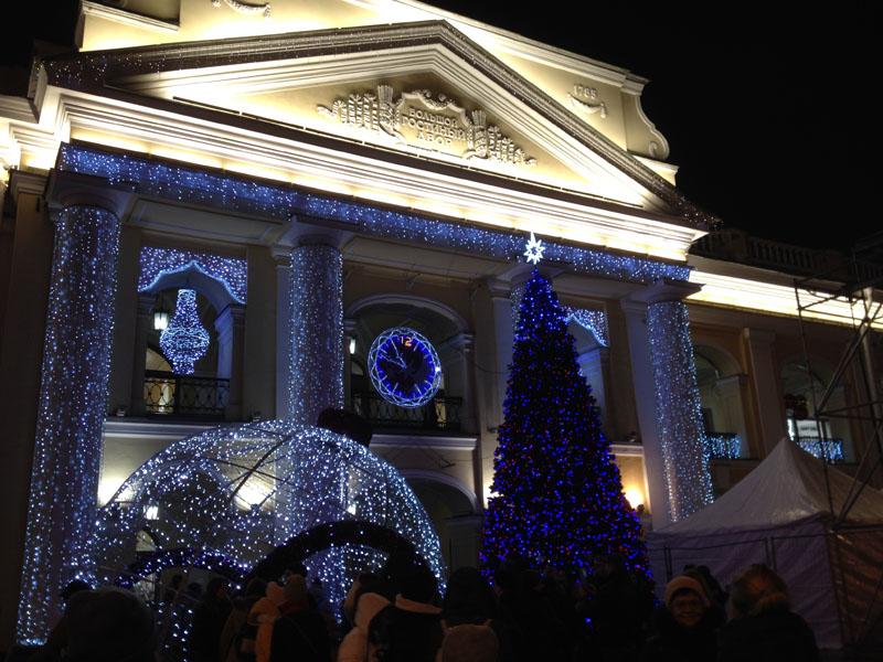 Фотопътепис – Москва и Санкт Петербург Нова година 15