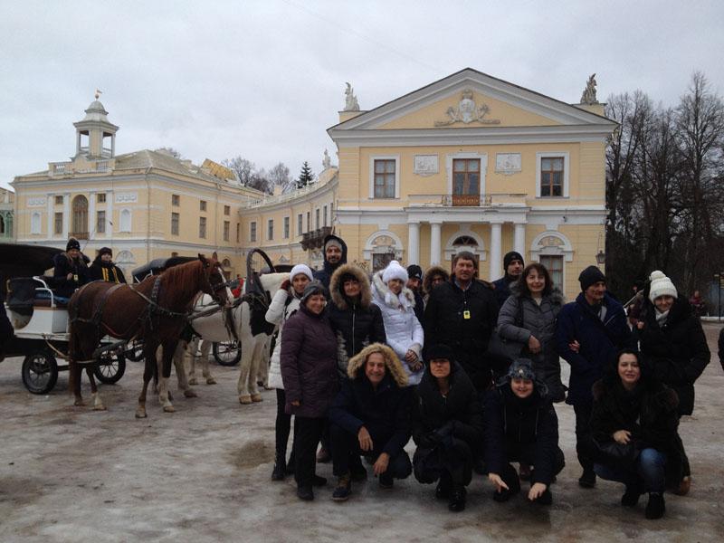 Фотопътепис – Москва и Санкт Петербург Нова година 17