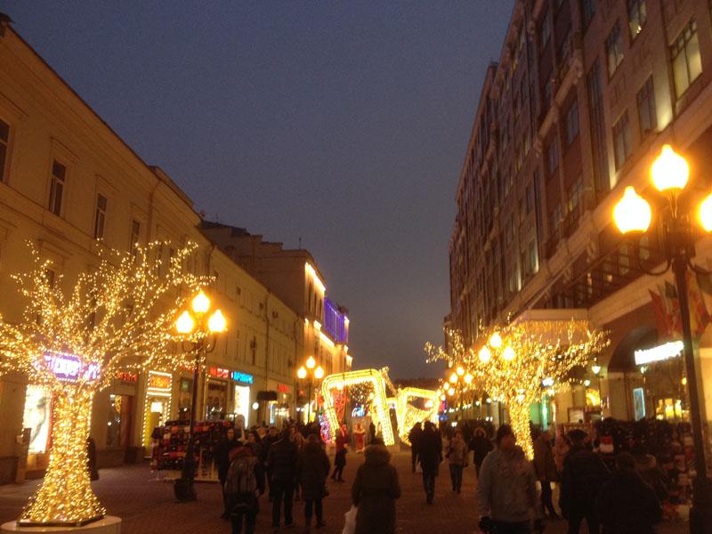 Фотопътепис – Москва и Санкт Петербург Нова година 2