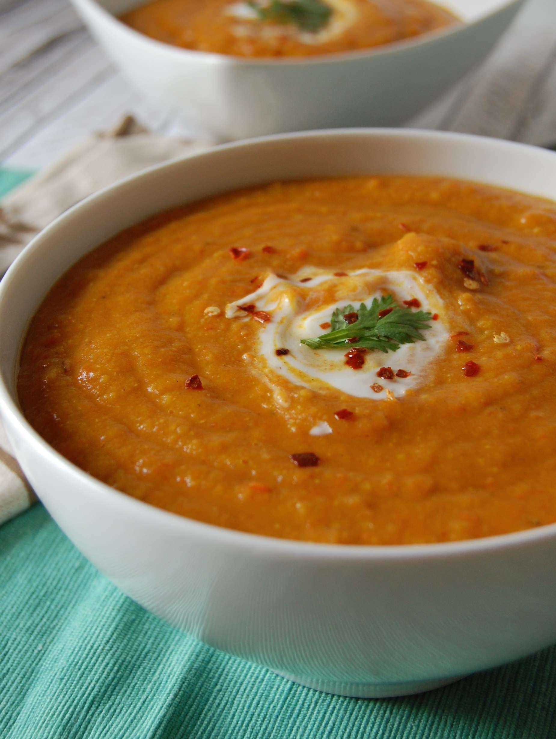 Ливанска крем супа от леща - 2