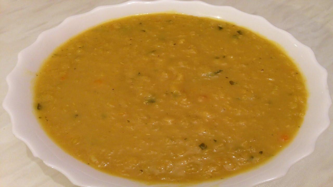 Ливанска крем супа от леща - 3
