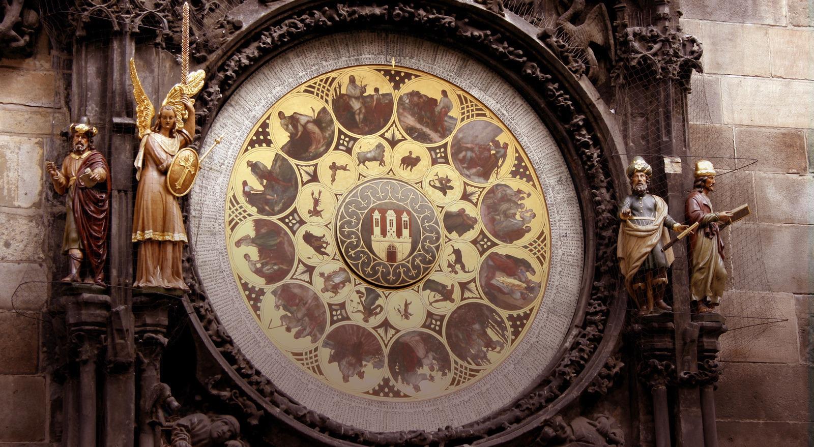 Пражкият астрономически часовник спря 5