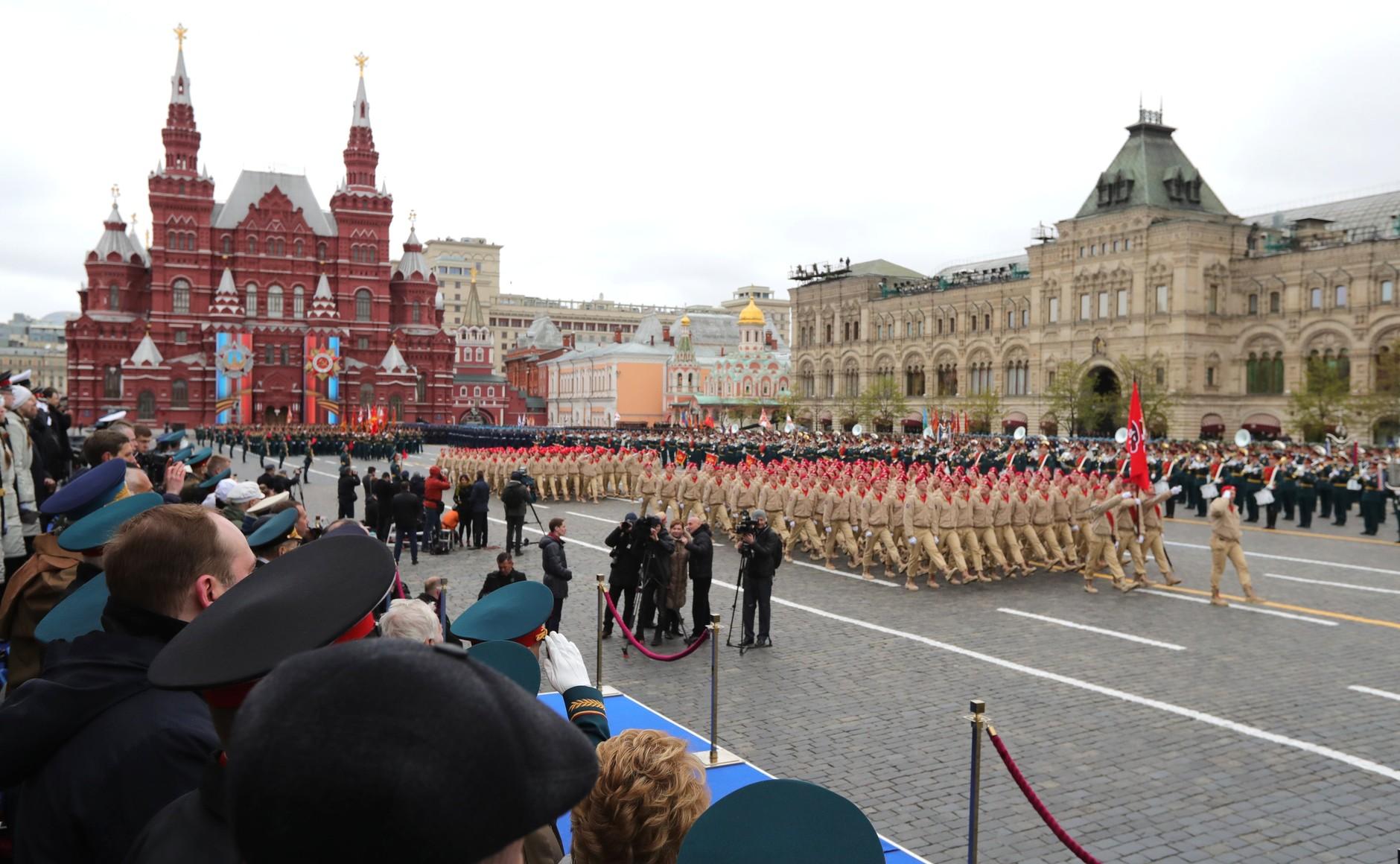 Парадът в Москва - грандиозен и незабравим - 4