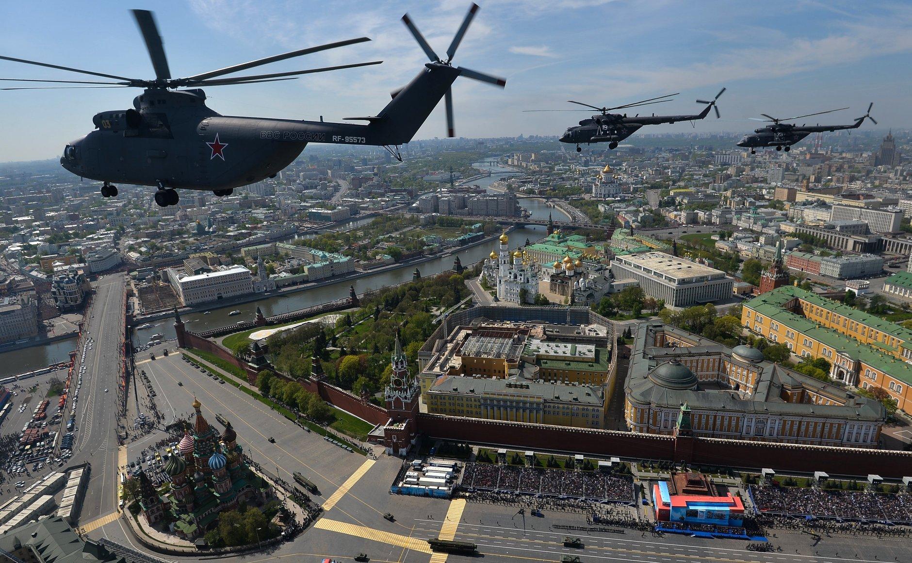 Парадът в Москва - грандиозен и незабравим - 7