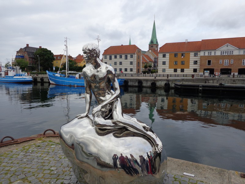 """""""Малкият русалчо"""" в Хелзингьор, Дания"""