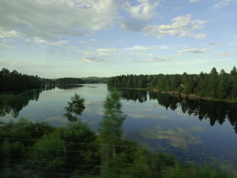 """""""Спи езерото"""" - Швеция"""