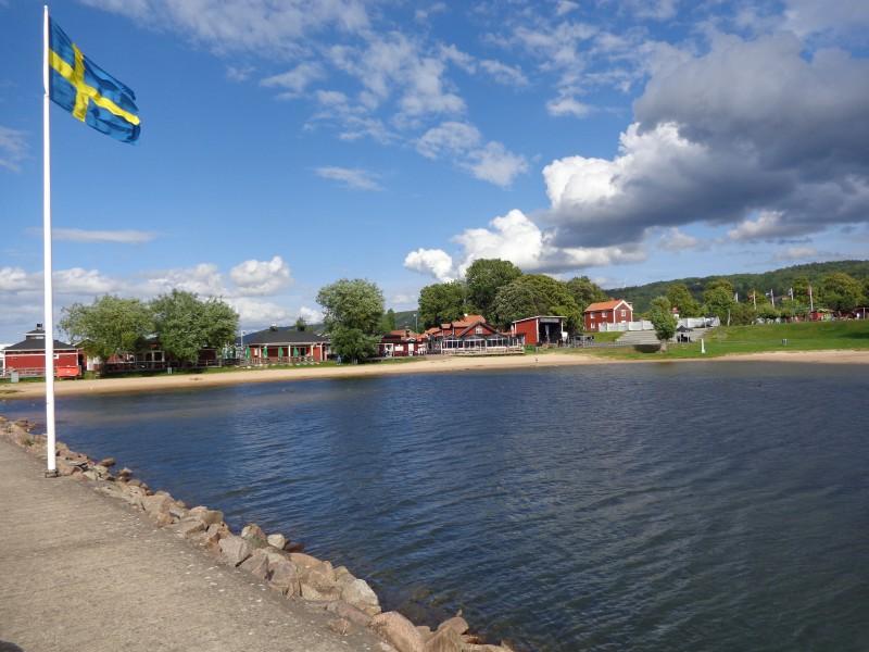 Прекрасното градче Грена в Швеция